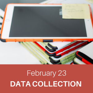 webchat, february 23, data collection