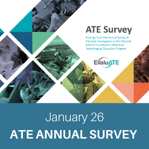 webchat, january 26, ate annual survey