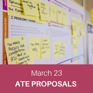 webchat, march 23, ate proposals